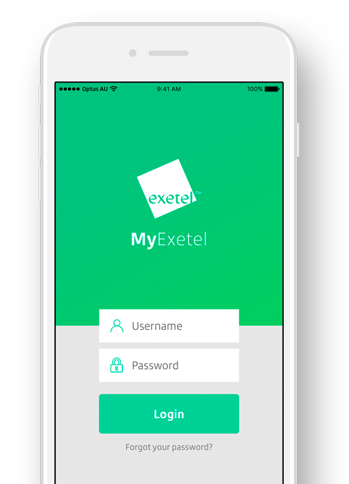 My Exetel - login to member services